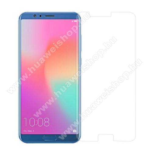 El?lap v�d? karc�ll� edzett �veg - 0,3 mm v�kony, 9H, Arc Edge, A k�perny? s�k r�sz�t v�di - HUAWEI Honor V10 / HUAWEI Honor View 10
