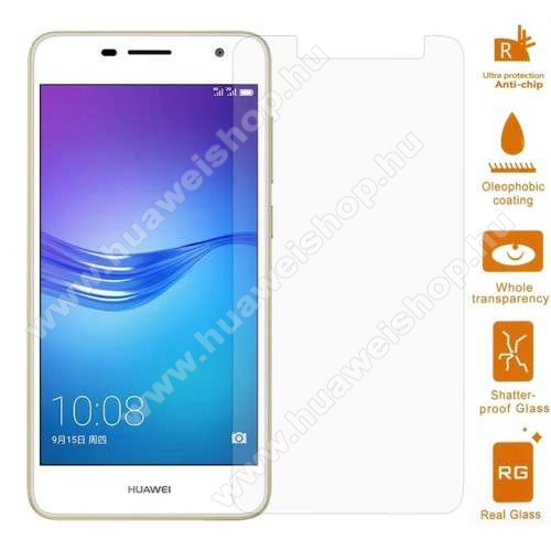 El?lapv�d? karc�ll� edzett �veg - 0,3mm, 9H, Arc Edge - HUAWEI Enjoy 6