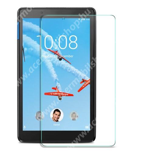 Előlap védő karcálló edzett üveg - 0,25 mm vékony, 9H, Arc Edge, A képernyő sík részét védi - Lenovo Tab E8 (TB-8304F1)