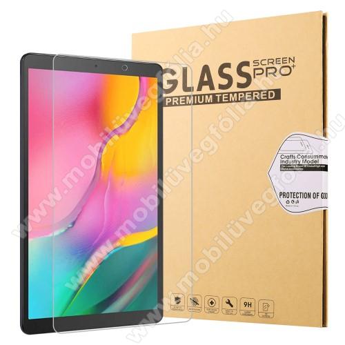 Előlap védő karcálló edzett üveg - 0,25 mm vékony, 9H, Arc Edge - SAMSUNG Galaxy Tab A 10.1 Wi-Fi (2019) (SM-T510) / SAMSUNG Galaxy Tab A 10.1 LTE (2019) (SM-T515)