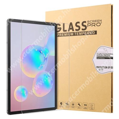 Előlap védő karcálló edzett üveg - 0,25 mm vékony, 9H, Arc Edge, A képernyő sík részét védi - Samsung Galaxy Tab S6 Wi-Fi (SM-T860) / Samsung Galaxy Tab S6 LTE (SM-T865)