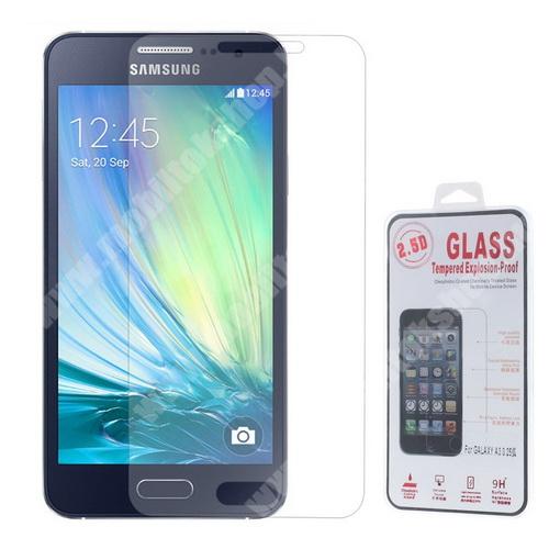Előlap védő karcálló edzett üveg - 0,25 mm vékony, 9H+ - SAMSUNG SM-A300F Galaxy A3