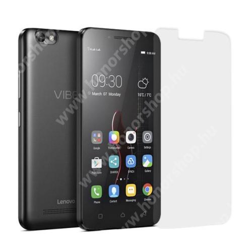 Előlap védő karcálló edzett üveg - 0,25 mm vékony, 9H, Arc Edge, A képernyő sík részét védi - Lenovo Vibe C (A2020)