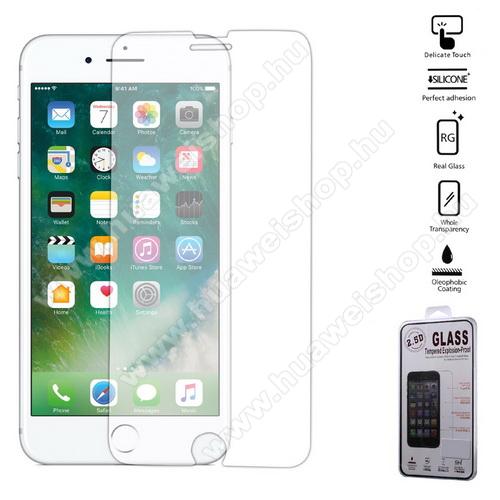 Előlap védő karcálló edzett üveg - 0,25 mm, 9H - Arc Edge - APPLE iPhone 7 Plus (5.5) / APPLE iPhone 8 Plus (5.5)