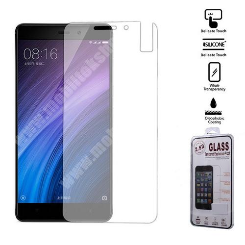Előlap védő karcálló edzett üveg - 0,25 mm vékony, 9H, Arc Edge - Xiaomi Redmi 4 / Xiaomi Redmi 4 Prime / Xiaomi Redmi 4 Pro
