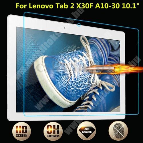 Előlap védő karcálló edzett üveg - 0,25 mm vékony, 9H, Arc Edge - Lenovo Tab 2 A10-30