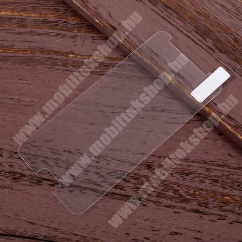 Előlap védő karcálló edzett üveg - 0,25 mm vékony, 9H, Arc Edge - SAMSUNG SM-J327 Galaxy J3 (2017)