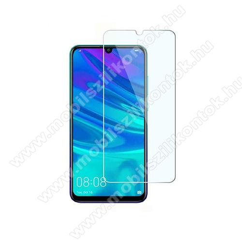 Előlap védő karcálló edzett üveg - 0,33 mm vékony, 9H, Arc Edge, A képernyő sík részét védi - HUAWEI Y5 (2019) / HUAWEI Honor 8S