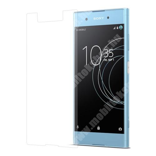 Előlap védő karcálló edzett üveg - 0,3 mm vékony, 9H, Arc Edge - Sony Xperia XA1 Plus
