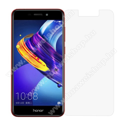 HUAWEI Honor V9 PlayElőlap védő karcálló edzett üveg - 0,3 mm vékony, 9H, Arc Edge - HUAWEI Honor V9 Play