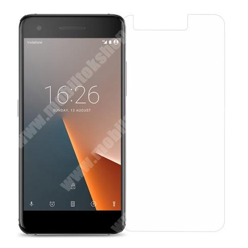 Előlap védő karcálló edzett üveg - 0,3 mm vékony, 9H, Arc Edge - Vodafone Smart V8