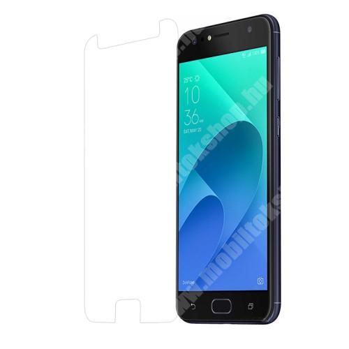 Előlap védő karcálló edzett üveg - 0,3 mm, 9H - Arc Edge - ASUS Zenfone 4 Selfie (ZD553KL)