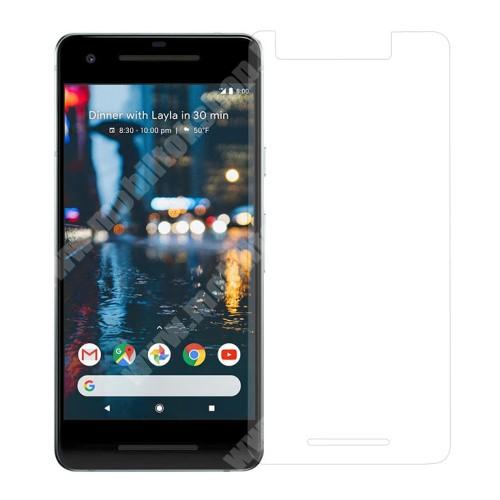 Előlap védő karcálló edzett üveg - 0,3 mm, 9H - Arc Edge - Google Pixel 2