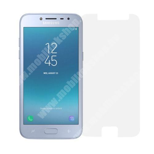 Előlap védő karcálló edzett üveg - 0,3 mm vékony, 9H, Arc Edge - SAMSUNG Galaxy J2 Pro (2018)