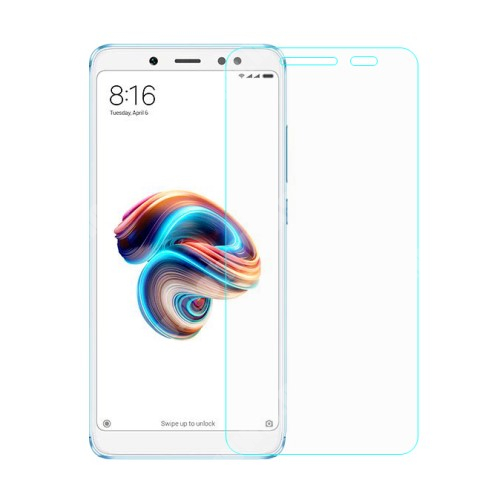Előlap védő karcálló edzett üveg - 0,3 mm vékony, 9H, Arc Edge - Xiaomi Redmi Note 5 Pro (Global version) / Xiaomi Redmi Note 5 (Global version)