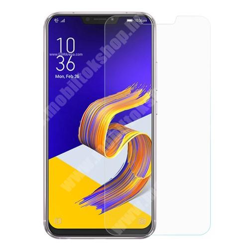 Asus Zenfone 5 (ZE620KL) (2018) Előlap védő karcálló edzett üveg - 0,3 mm vékony, 9H, Arc Edge, A képernyő sík részét védi - ASUS Zenfone 5 (ZE620KL) (2018)
