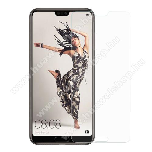 Huawei P20 Pro (2018)Előlap védő karcálló edzett üveg - 0,3 mm vékony, 9H, Arc Edge - HUAWEI P20 Pro (2018)