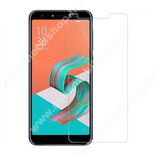 Asus Zenfone 5 Lite (ZC600KL) (2018)Előlap védő karcálló edzett üveg - 0,3 mm vékony, 9H, Arc Edge - Asus Zenfone 5 Lite (ZC600KL) (2018)