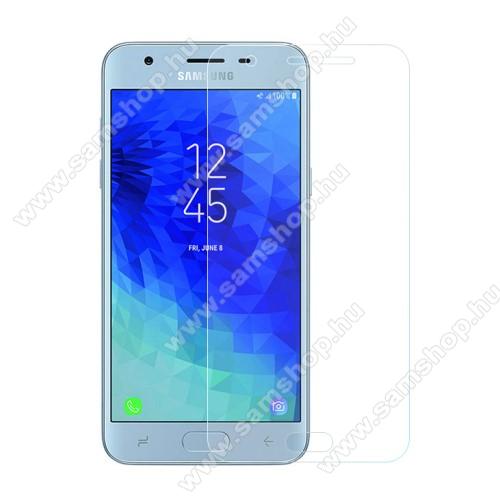 SAMSUNG Galaxy J3 (2018) (SM-J337)Előlap védő karcálló edzett üveg - 0,3 mm vékony, 9H, Arc Edge - SAMSUNG Galaxy J3 (2018)