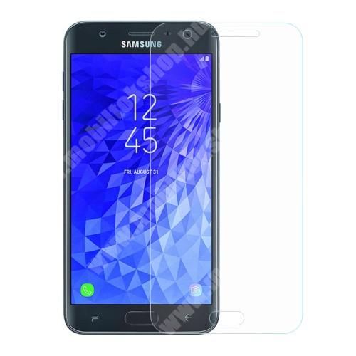SAMSUNG Galaxy J7 (2018) (SM-J737A) Előlap védő karcálló edzett üveg - 0,3 mm vékony, 9H, Arc Edge, A képernyő sík részét védi - SAMSUNG SM-J737A Galaxy J7 (2018)