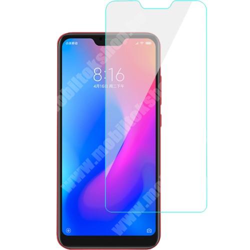 Előlap védő karcálló edzett üveg - 0,3 mm vékony, 9H, Arc Edge, A képernyő sík részét védi - Xiaomi Redmi 6 Pro / Xiaomi Mi A2 Lite