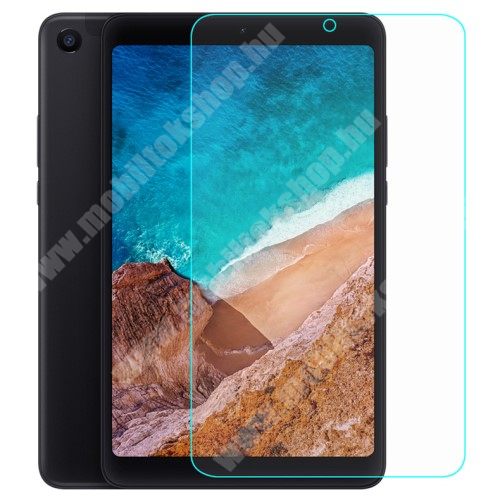 Xiaomi Mi Pad 4 Előlap védő karcálló edzett üveg - 0,3 mm vékony, 9H, Arc Edge - Xiaomi Mi Pad 4