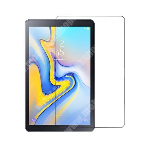 Előlap védő karcálló edzett üveg - 0,3 mm vékony, 9H, Arc Edge, A képernyő sík részét védi - SAMSUNG SM-T590 Galaxy Tab A 10.5 Wi-Fi / SAMSUNG SM-T595 Galaxy Tab A 10.5 LTE