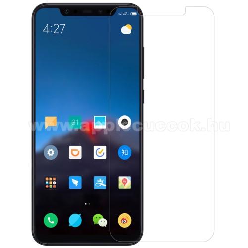 Előlap védő karcálló edzett üveg - 0,3 mm vékony, 9H, Arc Edge, A képernyő sík részét védi - Xiaomi Mi 8 / Xiaomi Mi 8 Explorer / Xiaomi Mi 8 Pro