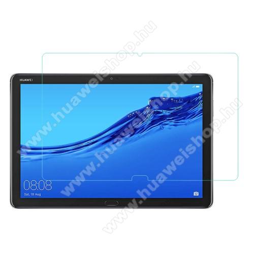 HUAWEI MediaPad M5 Lite 10Előlap védő karcálló edzett üveg - 0,3 mm vékony, 9H, Arc Edge - HUAWEI MediaPad M5 Lite 10 / HUAWEI MediaPad C5 10