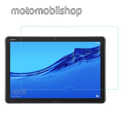 Előlap védő karcálló edzett üveg - 0,3 mm vékony, 9H, Arc Edge, A képernyő sík részét védi - HUAWEI MediaPad M5 Lite 10 / HUAWEI MediaPad C5 10