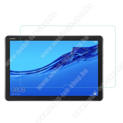 Előlap védő karcálló edzett üveg - 0,3 mm vékony, 9H, Arc Edge - HUAWEI MediaPad M5 Lite 10 / HUAWEI MediaPad C5 10