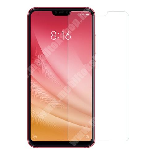 Xiaomi Mi 8 Lite Előlap védő karcálló edzett üveg - 0,3 mm vékony, 9H, Arc Edge, A képernyő sík részét védi - Xiaomi Mi 8 Lite / Xiaomi Mi 8 Youth (Mi 8X)