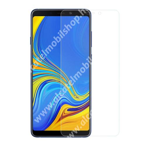 Előlap védő karcálló edzett üveg - 0,3 mm vékony, 9H, Arc Edge - SAMSUNG Galaxy A9 (2018)