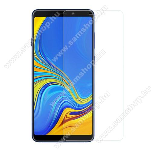 SAMSUNG Galaxy A9 (2018) (SM-A920F/DS)Előlap védő karcálló edzett üveg - 0,3 mm vékony, 9H, Arc Edge, A képernyő sík részét védi - SAMSUNG Galaxy A9 (2018)