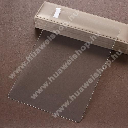 HUAWEI MediaPad T5 10Előlap védő karcálló edzett üveg - 0,3 mm vékony, 9H, Arc Edge, A képernyő sík részét védi - HUAWEI MediaPad T5