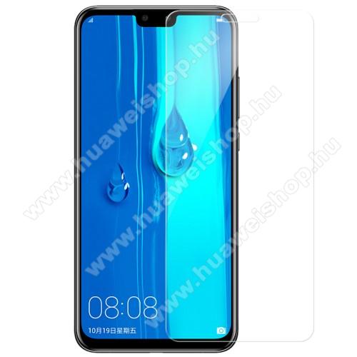 HUAWEI Y9 (2019)Előlap védő karcálló edzett üveg - 0,3 mm vékony, 9H, Arc Edge - HUAWEI Y9 (2019) / HUAWEI Enjoy 9 Plus