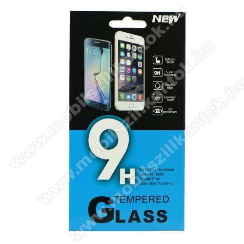 Előlap védő karcálló edzett üveg - 0,3 mm vékony, 9H, Arc Edge, A képernyő sík részét védi - Xiaomi Redmi Note 6 Pro