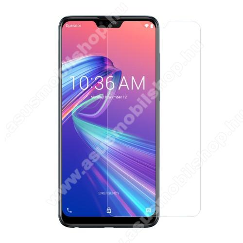 ASUS Zenfone Max Pro (M2) (ZB630KL)Előlap védő karcálló edzett üveg - 0,3 mm vékony, 9H, Arc Edge, A képernyő sík részét védi - ASUS Zenfone Max Pro (M2) (ZB631KL) / ASUS Zenfone Max Pro (M2) (ZB630KL)