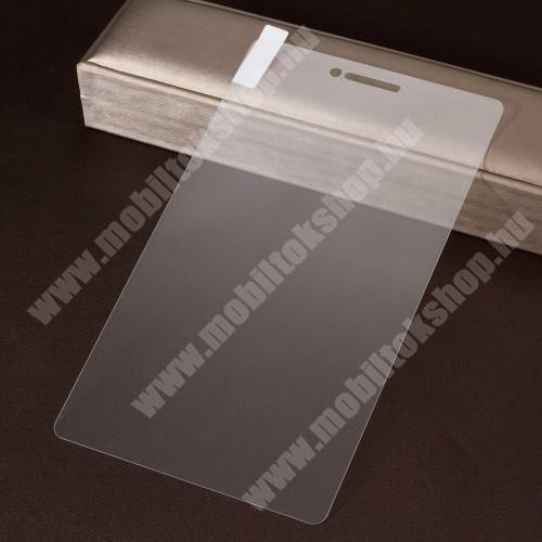 Lenovo Tab E7 (TB-7104F) Előlap védő karcálló edzett üveg - 0,3 mm vékony, 9H, Arc Edge, A képernyő sík részét védi - Lenovo Tab E7 (TB-7104F)