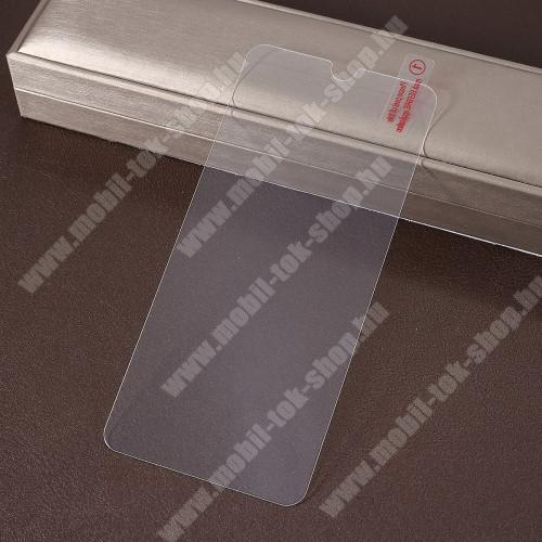 Előlap védő karcálló edzett üveg - 0,3 mm vékony, 9H, Arc Edge - HUAWEI Honor 8A