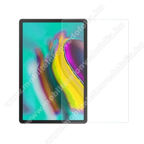 Előlap védő karcálló edzett üveg - 0,3 mm vékony, 9H, Arc Edge, A képernyő sík részét védi - SAMSUNG SM-T725 Galaxy Tab S5e 10.5 LTE / SAMSUNG SM-T720 Galaxy Tab S5e 10.5 Wi-Fi