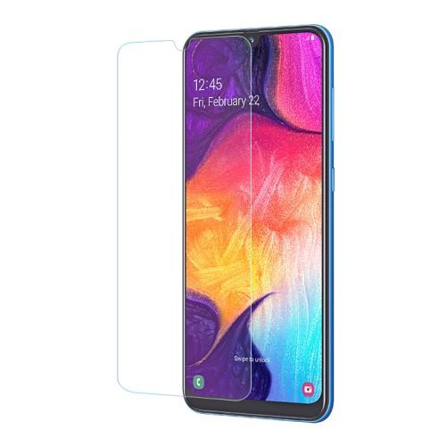 Előlap védő karcálló edzett üveg - 0,3 mm vékony, 9H, Arc Edge, A képernyő sík részét védi - SAMSUNG SM-A305F Galaxy A30 / SAMSUNG SM-A307F Galaxy A30s / SAMSUNG SM-A505F Galaxy A50 / SAMSUNG Galaxy A50s