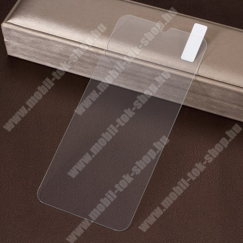 Előlap védő karcálló edzett üveg - 0,3 mm vékony, 9H, Arc Edge - Xiaomi Mi 9 / Xiaomi Mi 9 Explorer