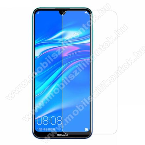Előlap védő karcálló edzett üveg - 0,3 mm vékony, 9H, Arc Edge - HUAWEI Y7 (2019) / HUAWEI Y7 Prime (2019)