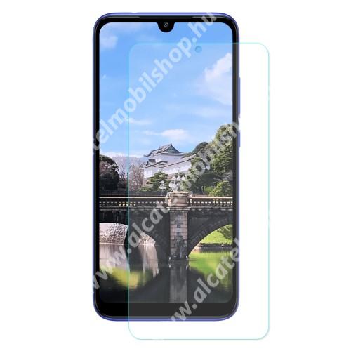 Előlap védő karcálló edzett üveg - 0,3 mm vékony, 9H, Arc Edge - Xiaomi Redmi 7 / Xiaomi Redmi Y3