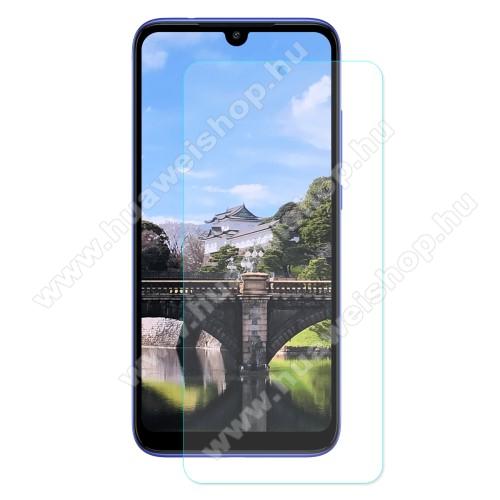 Előlap védő karcálló edzett üveg - 0,3 mm vékony, 9H, Arc Edge, A képernyő sík részét védi - Xiaomi Redmi 7 / Xiaomi Redmi Y3