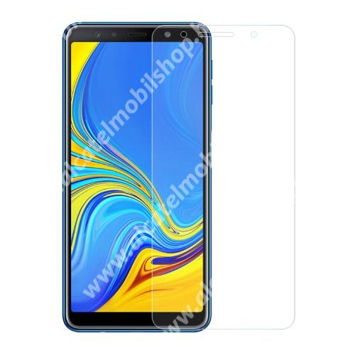 Előlap védő karcálló edzett üveg - 0,3 mm vékony, 9H, Arc Edge - SAMSUNG SM-A705F Galaxy A70