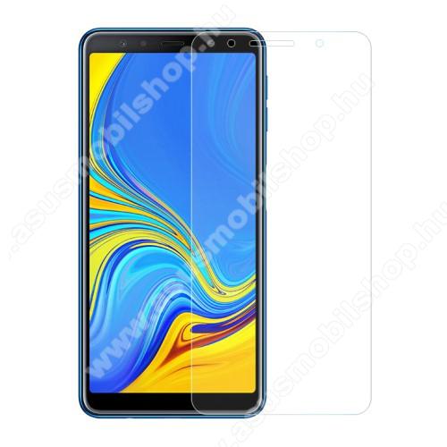 Előlap védő karcálló edzett üveg - 0,3 mm vékony, 9H, Arc Edge, A képernyő sík részét védi - SAMSUNG SM-A705F Galaxy A70