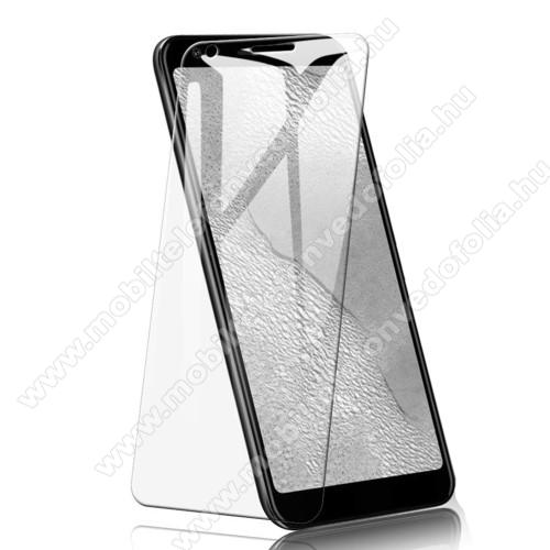 Előlap védő karcálló edzett üveg - 0,3 mm vékony, 9H, Arc Edge - Google Pixel 3a XL