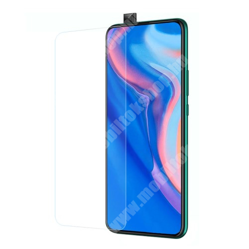 HUAWEI Honor 9X Pro (For China market) Előlap védő karcálló edzett üveg - 0,3 mm vékony, 9H, Arc Edge, A képernyő sík részét védi - HUAWEI P smart Pro (2019) / HUAWEI P Smart Z / HUAWEI Y9s / Honor 9X (Global) / Honor 9X (China) / Honor 9X Pro (China)